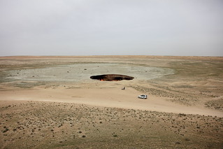 The Door to Hell (in the daytime) / Turkmenistan, Darvaza | by flydime