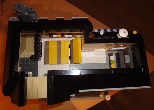 Lego Modular Town House Interior Dachgeschoss Under Th Flickr