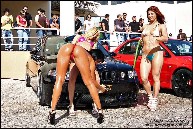 Hot Girls Washing Cars Naked
