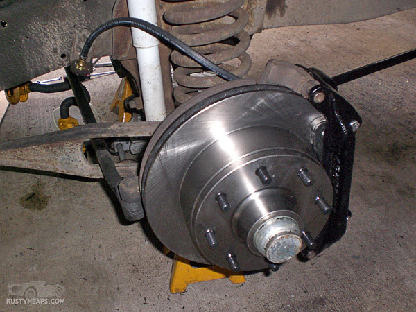 New Ford F150 >> 1968 Ford F250 Disc Brake | Rebuilt the front brakes on the … | Flickr