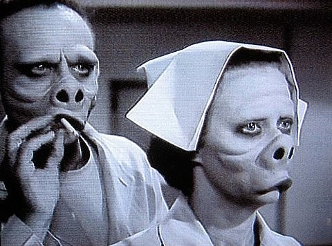 eye of the beholder twilight zone