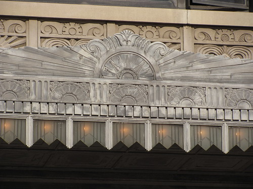 Metal Art Deco Detail of Kansas City Power and Light Building - KC, MO_IMG_9011 | by Wampa-One