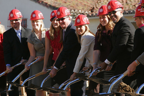 Photo of Ground Breaking for Student Union | by California State University Channel Islands