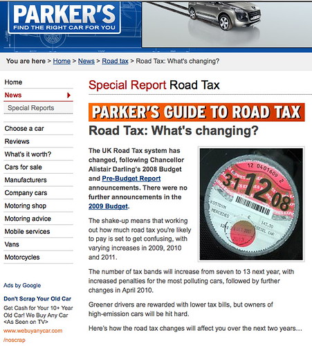 Parker's: but road tax was abolished in 1936 | by carltonreid