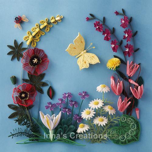 Paper Quilling Flowers Of Israel Flowers Of Israel