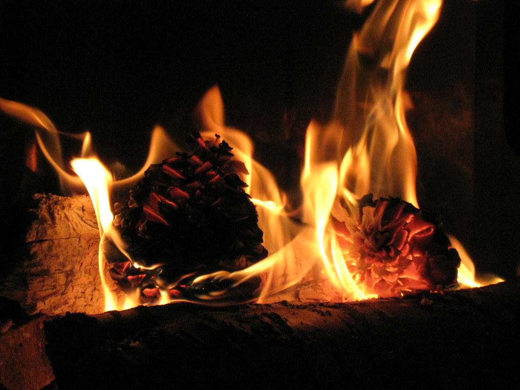 Feu de chemin e natachenka flickr - Image feu de cheminee ...