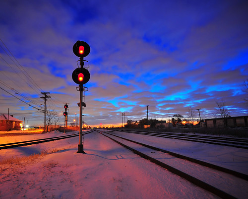 Detroit Tracks West of Livernois Yard | by Wade Bryant