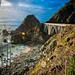 Big Sur highway bridge