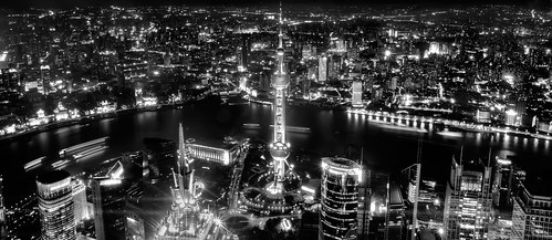 Shanghai From The Top Of The World | by Sprengben