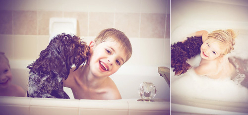 bath time with cocoa | by TammyJarman