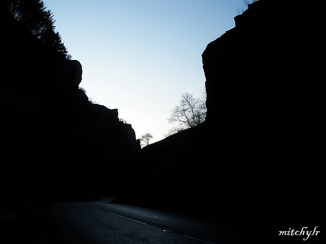 Gorge In Shadow 1