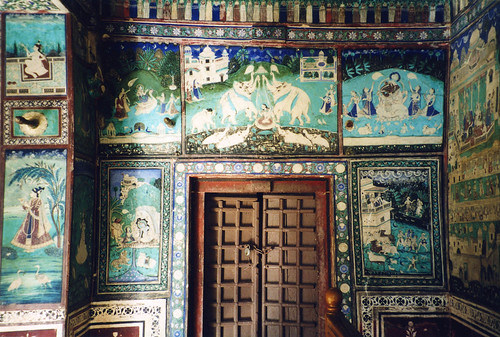 Wall Paintings, Bundi Palace, Rajasthan, India | by east med wanderer