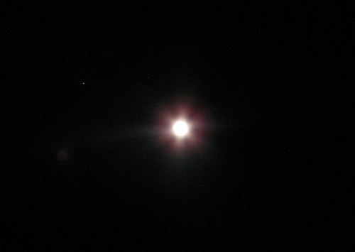 The Moon And Mars This Picture Was Just A Snapshot I
