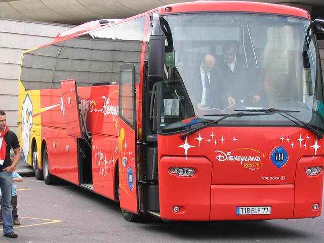 Shuttlebus Disneyland Paris Hotels