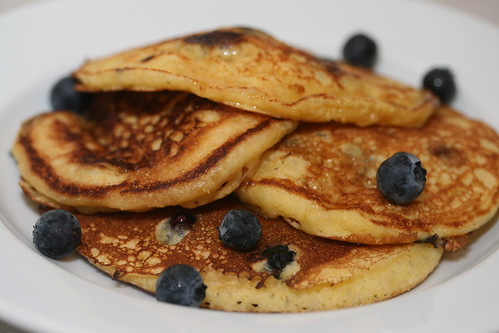 Blueberry Cornmeal Pancakes | by Food Librarian