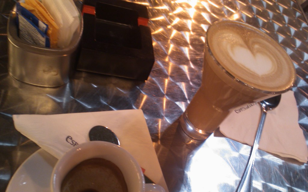 Oh hey, forgot to post this pic of the coffee from last ni ...