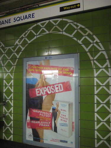 Girl One Track poster at Sloane Square Tube | by Annie Mole