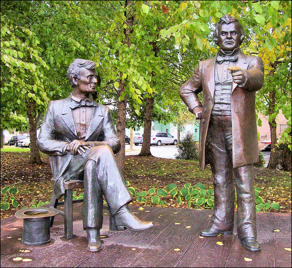 lincoln douglas debate at freeport illinois essay