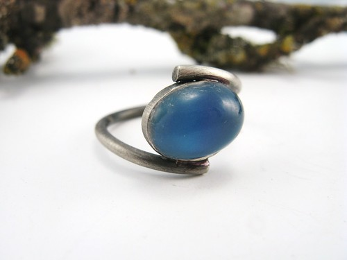 Silver Mood Stone Rings