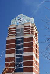 ECU Clock Tower by thwphoto