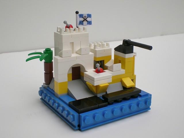 Lego Micro scale Eldorado Fortress Flickr