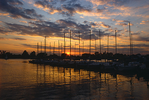Sunset On The Potomac, Southwest Waterfront, Washington, DC | by Gerald L. Campbell