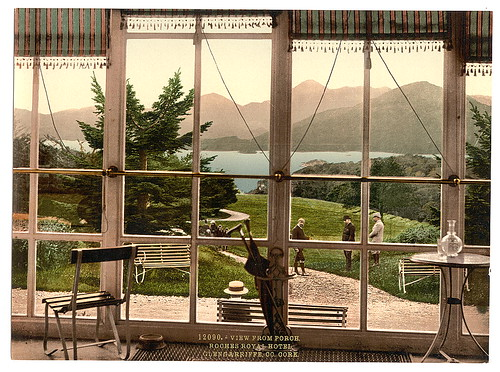[View from Roches Royal Hotel, Glengariff Harbor. County Cork, Ireland] (LOC) | by The Library of Congress