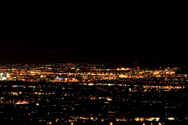 tucson at night nasa - photo #3