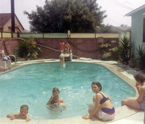 1964 10th Birthday Pool Party My 10th Birthday Pool