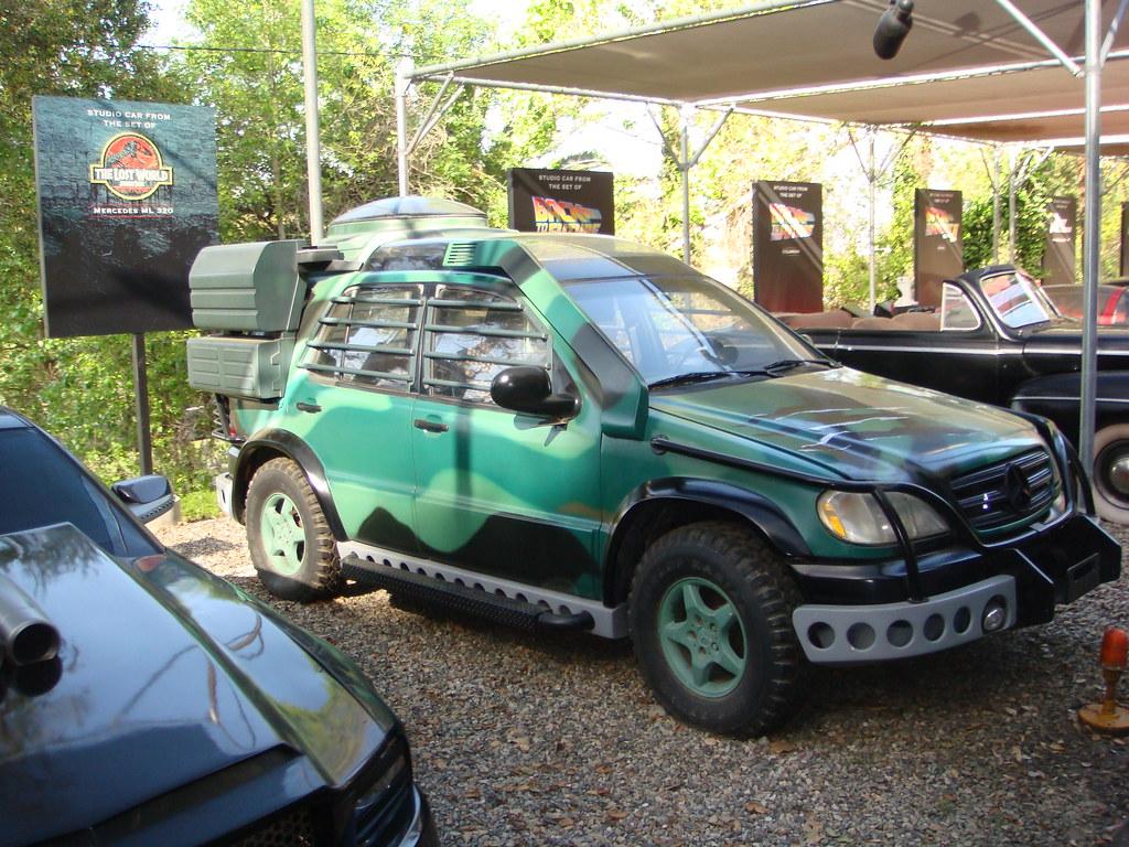 studio car from the lost world jurassic park martin. Black Bedroom Furniture Sets. Home Design Ideas