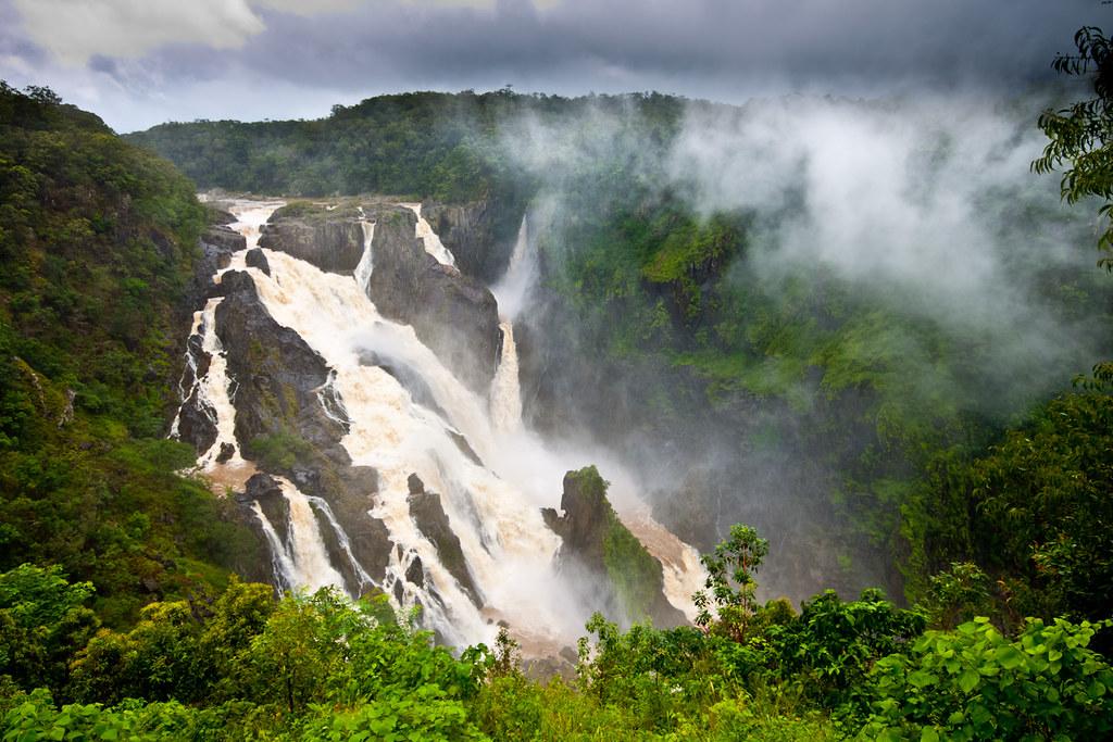 guia viaje australia - barron falls