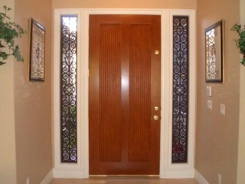 Decorative Sidelight Door Window The Decorative Iron