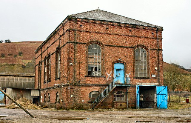 Old Etm Steel Fabrication Building Once Part Of The