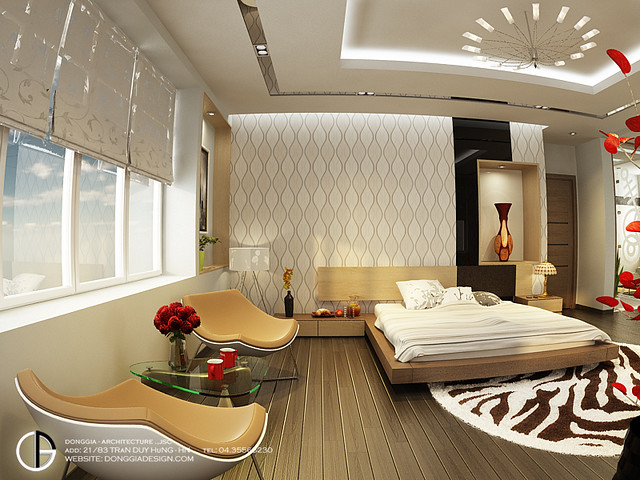 Villa interior design master bedroom bach trong duc flickr for Villa lotto interior design
