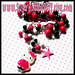 Hello Kitty CANDY Chain Handmade Beaded Collar Charm Necklace