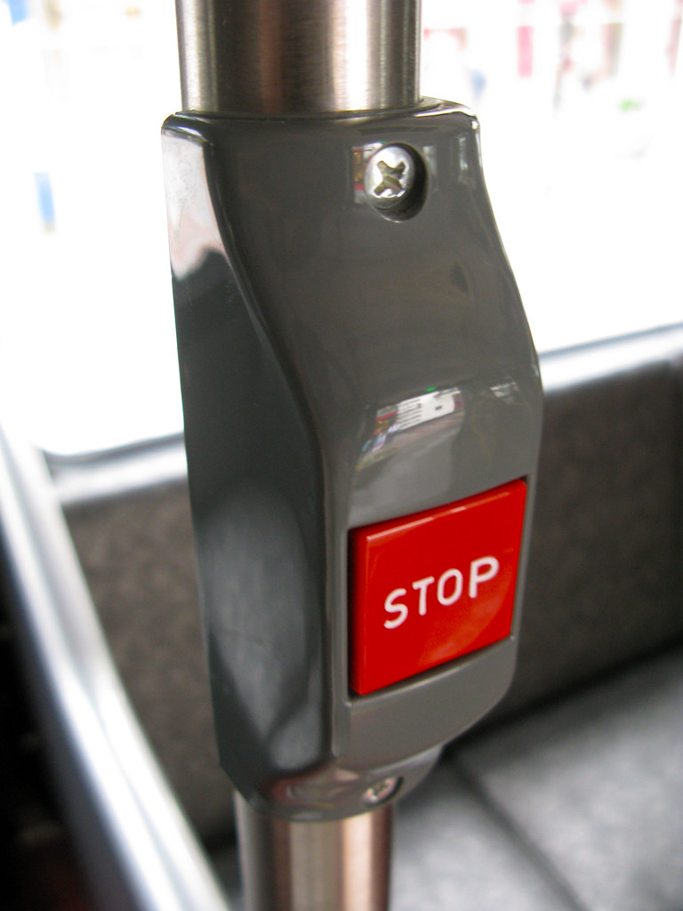 Image result for bus stop button