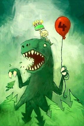 T Rex Birthday