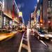 Ginza, Tokyo in the Rain