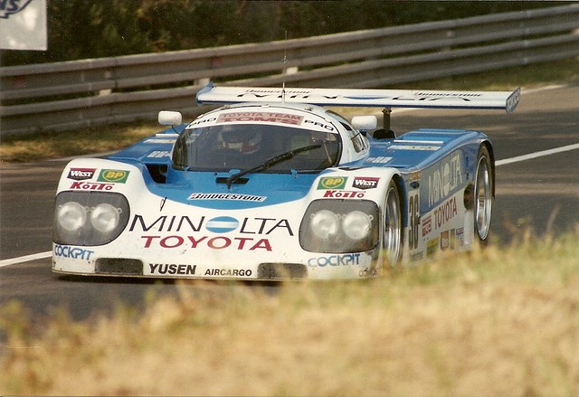 Toyota 90c V Le Mans 1990 The No 36 Geoff Lees Hitoshi