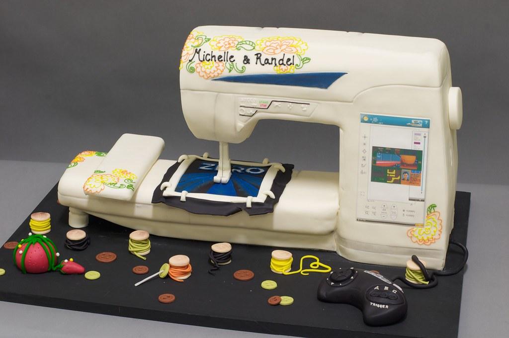 Cake In Shape Of A Machine