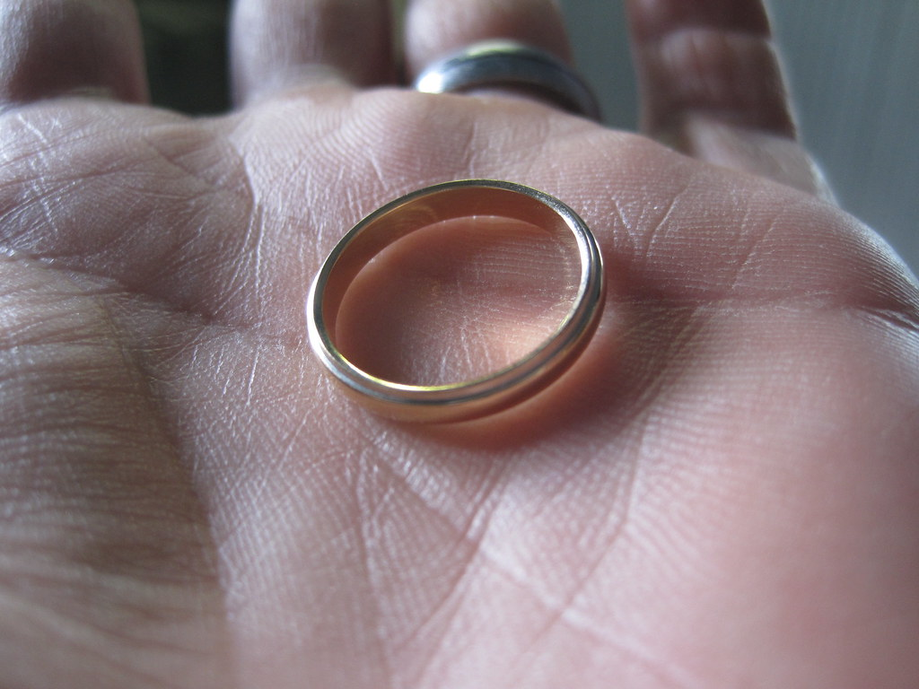 How I saved a marriage by finding a lost wedding ring in F Flickr