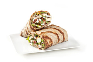 Chicken and Goat Cheese Crepe Wrap | by Tossed Restaurant