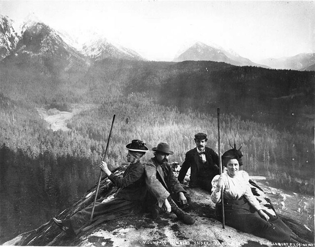 Mountaineering In The Vicinity Of Index Washington Flickr