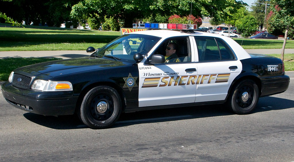 Monterey County Sheriff Cars That Took Part In The Peace