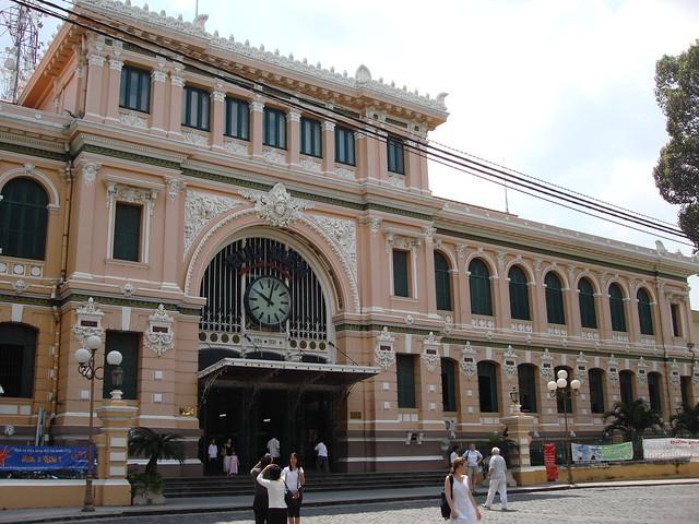 Central Post Office Ho Chi Minh City Flickr Photo Sharing