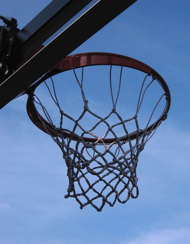 Basketball hoop | by Steve A Johnson