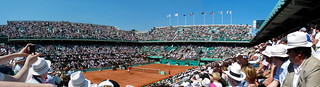 Court Philippe Chatrier - 1er tour de Roland Garros 2010 - tennis french open | by y.caradec