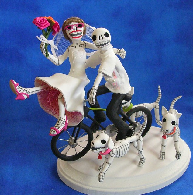 Bicycle Cake Topper Wedding