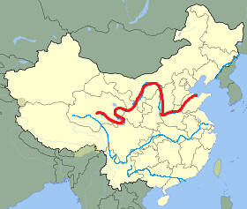 Huang He River Huneycuttaddison Flickr - Huang river world map