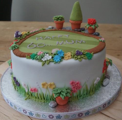 Garden Birthday Cake Designs – Birthday Cake Designs